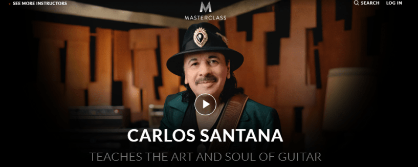 Carlos Santana MasterClass Review- introduction