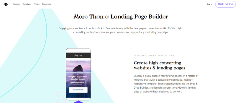 ClickFunnels Vs LeadPages - landing page