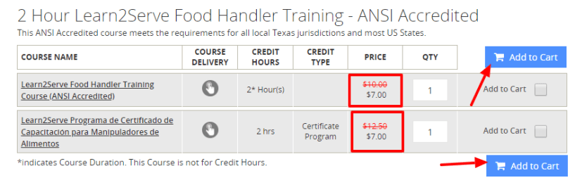 Learn2serve Review- food safety program pricing