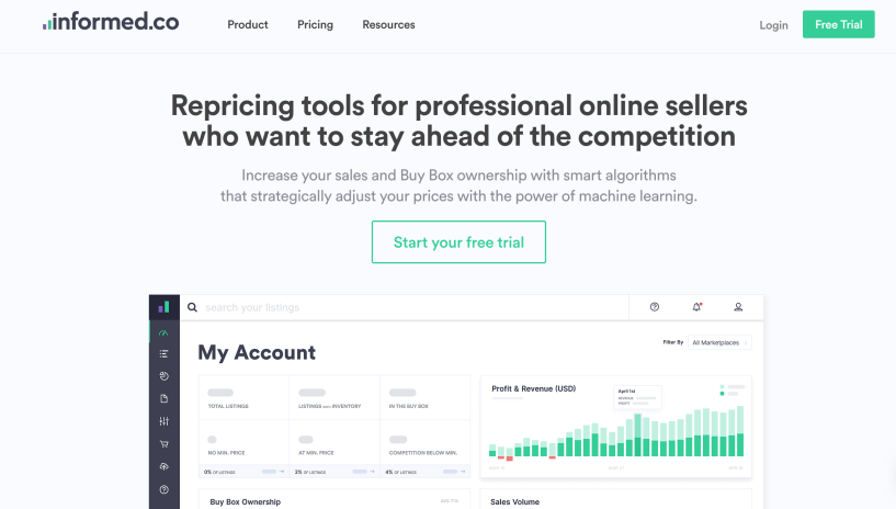 Informed.co- Repricing Tool