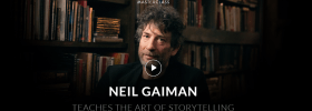 Neil Gaiman Storytelling Masterclass Review- art and soul