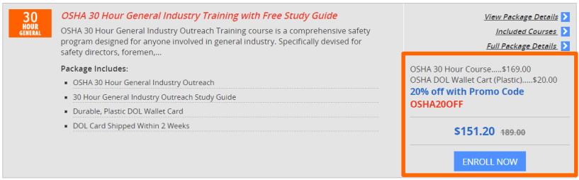 OSHA 30 Hours Training Online - 360training Courses Review