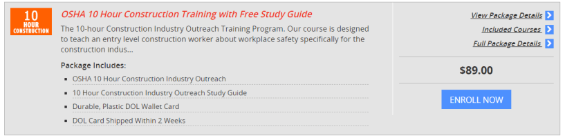 OSHA Training Online- 360training Courses Review