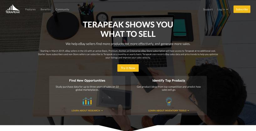 Terapeak- Reliable Amazon Software