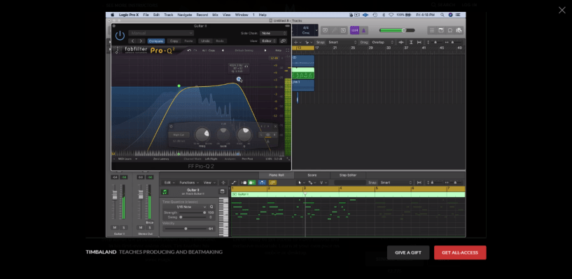 Timbaland MasterClass Review - software which use