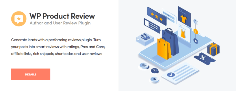 WP Product Review Plugin - Themeisle Review