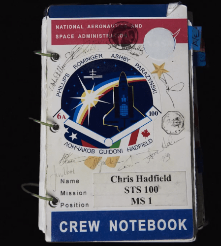 Chris Hadfield Masterclass Review - Notebook