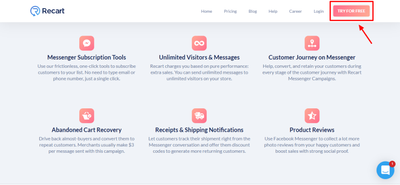 Recart Review - tools and service