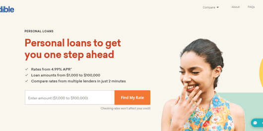 Credible review - personal loan