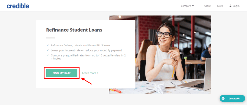 Credible review - refinance student loans