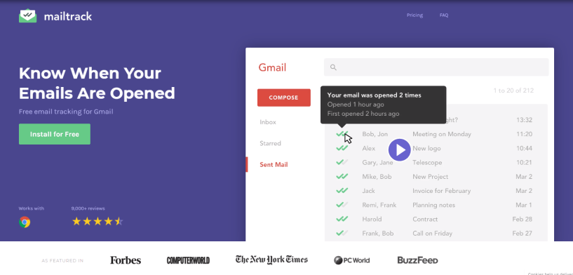 Mailtrack - Email tracking for Gmail