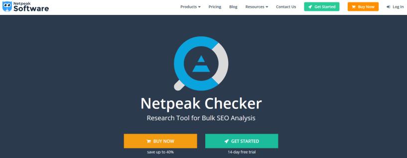 Netpeak Checker Review- SEO Tool