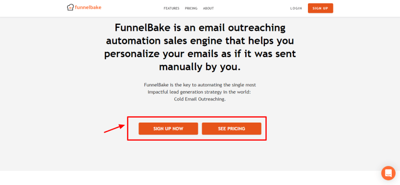 Saleshandy Alternatives - FunnelBake