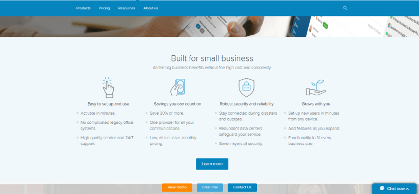 Saleshandy Alternatives - ringcentral bulit bussiness