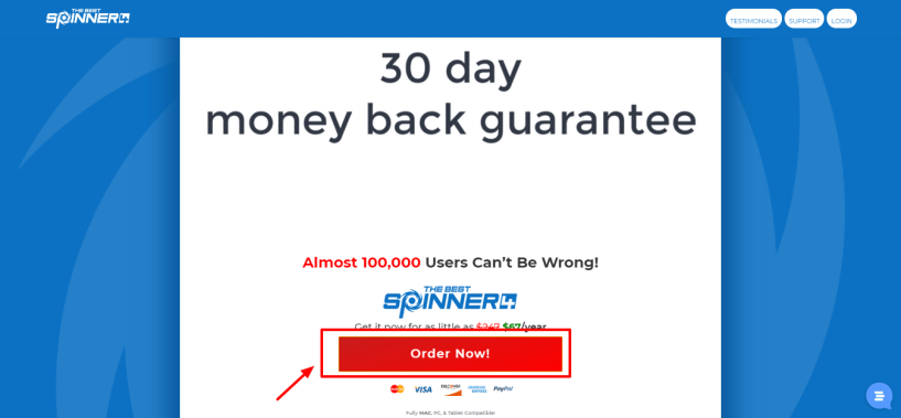 the best spinner review with discount coupon - 30 days money back