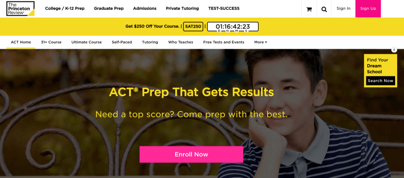 ACT Test Prep The Princeton Review