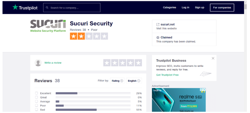 Astra vs Sucuri Comparision Review- Sucuri Security