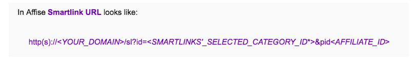 Affise Review - Smartlink