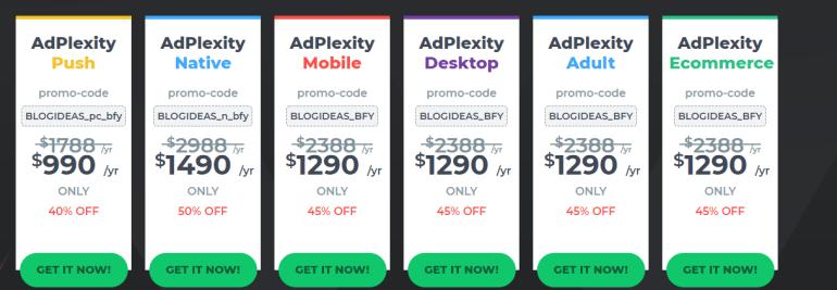 AdPlexity Balck friday Deals Get The Offer Now