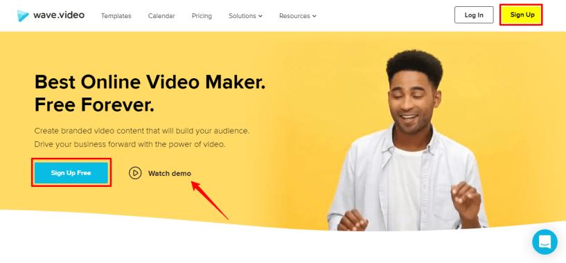 Free Online Video Maker Wave video