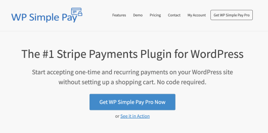 WP Simple Pay- A Stripe Payment Plugin