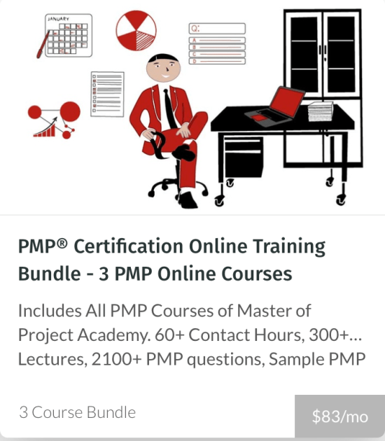 PMP Online Training - Master Of project Academy
