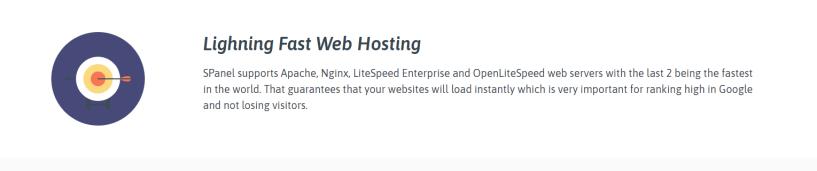 SPanel Review - LightSpeed Web Hosting