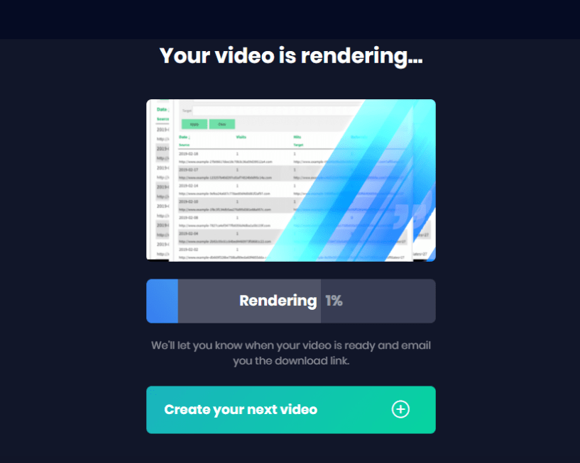Viddyoze Customization - Video Rendering