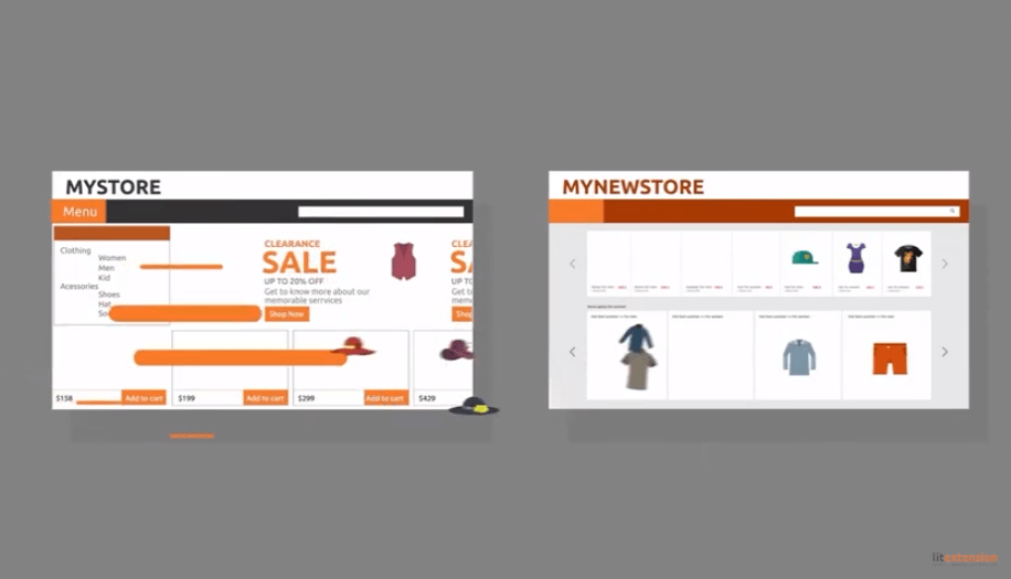Shopify-Migration-Shopping LitExtension - My Store