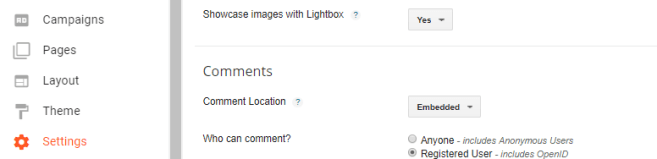 optimizing the post settings