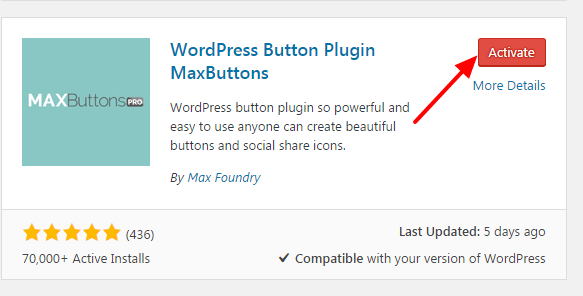how to add a button on wordpress