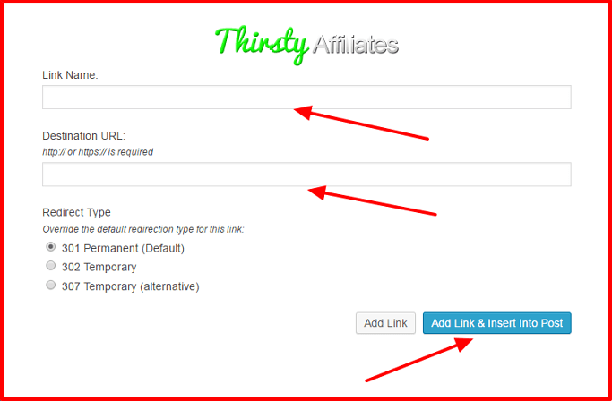 Best affiliate link management ThirstyAffiliates 10