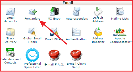 get an email addess with your domain name
