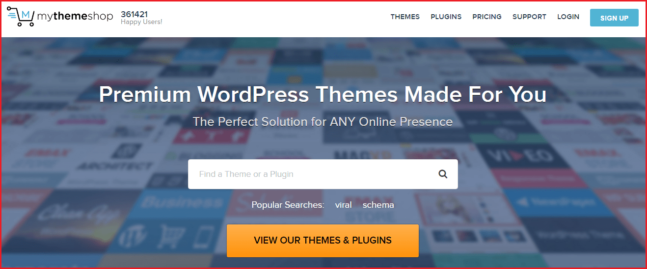 wrdpress premium themes provider - mythemeshop