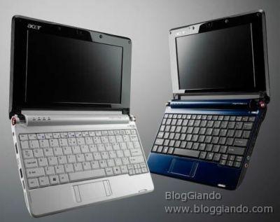 Acer vuole aumentare le vendite e abbassa il prezzo dei Netbook