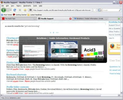 prima-beta-di-firefox-31-anche-in-italiano Prima beta di Firefox 3.1 anche in italiano