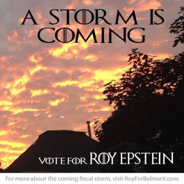 A Storm is Coming Meme Belmont Barf