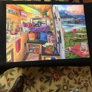 Camper van puzzle