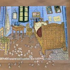 Van Gogh Bedroom puzzle