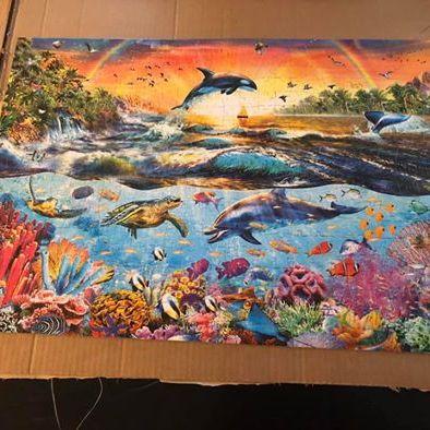 Ocean creatures puzzle