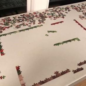 Unfinished puzzle by Krista