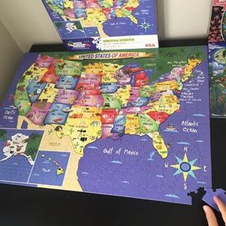 Map of the US Puzzle