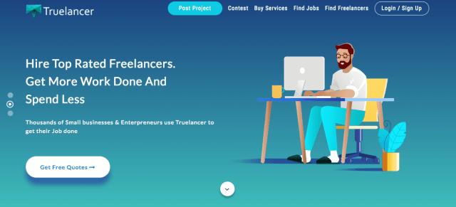 Truelancer-marketplace