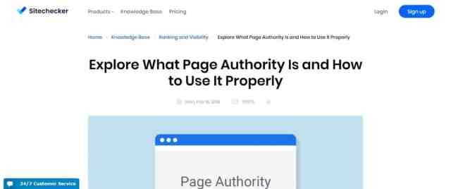 10 Best Domain Authority Checker Websites in 2019 4