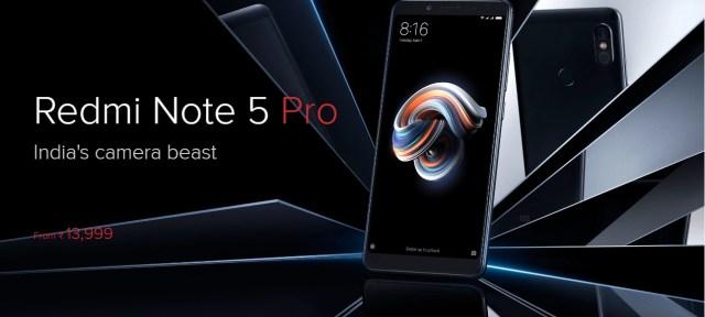 Mi Note 5 Pro 13999