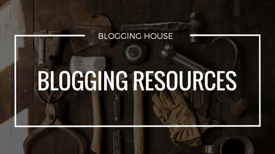 Blogging Resources and Tools