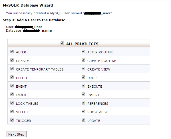 how to create a database