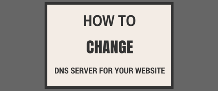 how to change the dns server