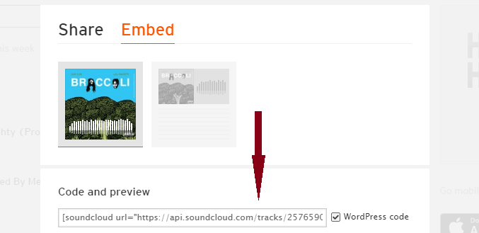 wordpress support soundcloud