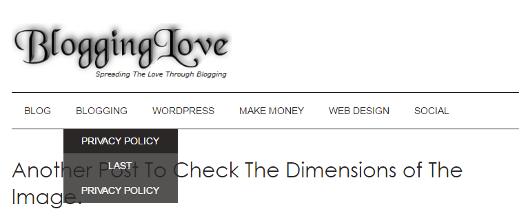 blogginglove wordpress theme